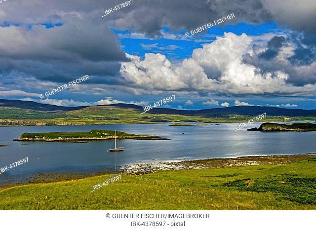 Loch Dunvegan, Colbost, Isle of Skye, Scotland, United Kingdom