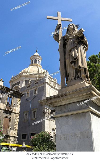 Badia di Sant'Agata, Catania, Sicily, Italy