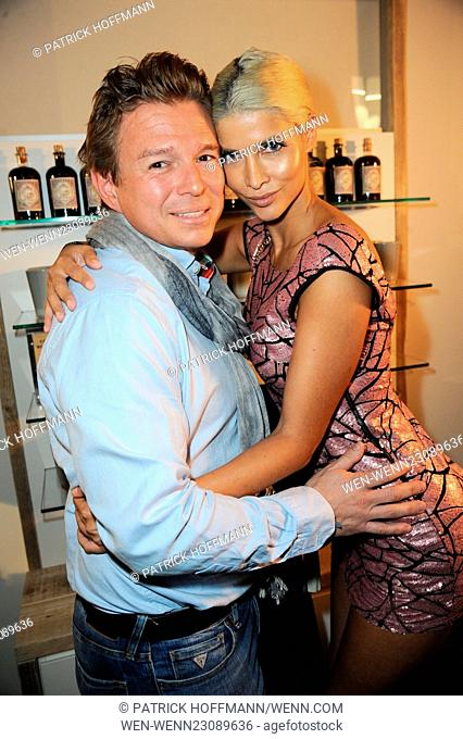 Flaconi Neo Salon Opening at Leipziger Strasse in Mitte. Featuring: Klaus Brunmayr, Micaela Schaefer Where: Berlin, Germany When: 29 Oct 2015 Credit: Patrick...