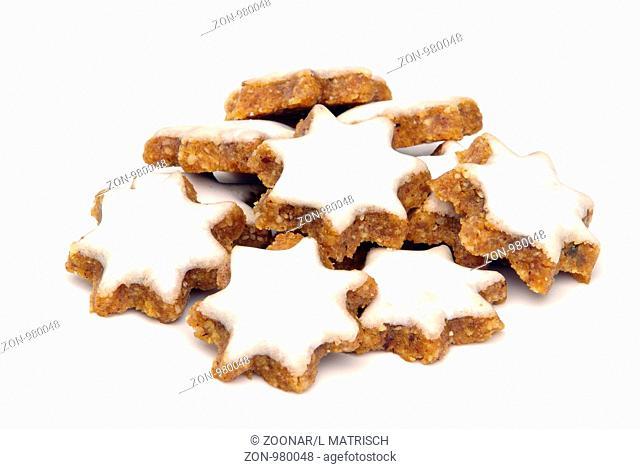 Zimtstern - star-shaped cinnamon biscuit 05