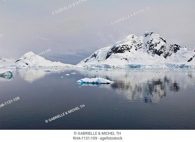 Bahia Paraiso (Paradise Bay), Antarctic Peninsula, Antarctica, Polar Regions