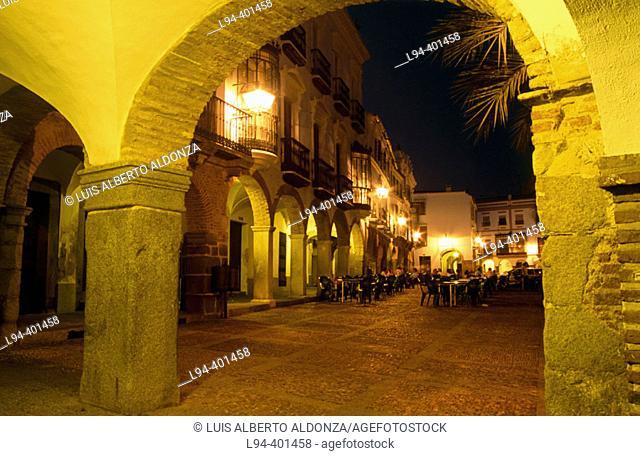 Plaza Grande. Zafra (Badajoz). Spain
