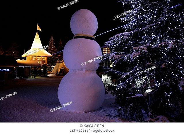 Santa Claus Village, Arctic Circle, Rovaniemi. Finland