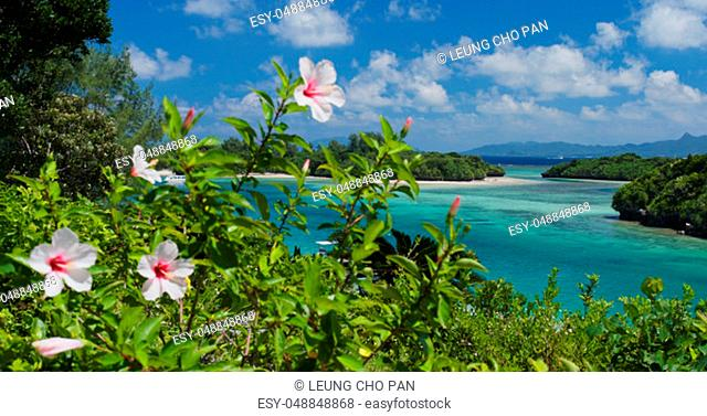 Kabira Bay in ishigaki island of Japan