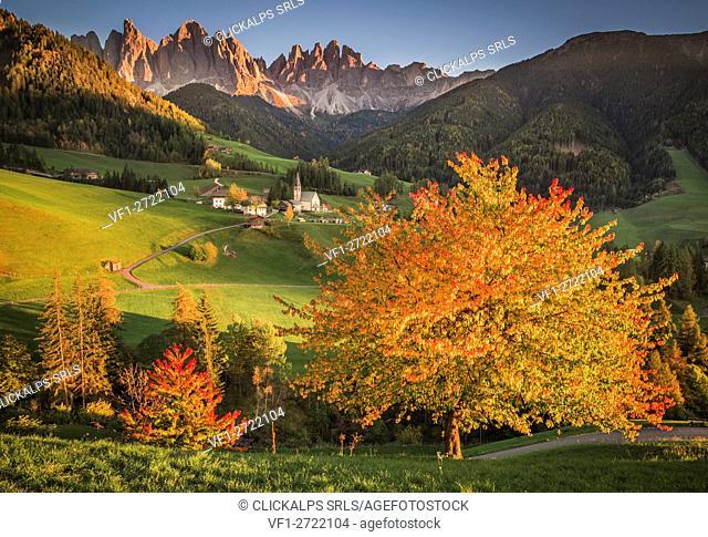 Funes Valley, Trentino Alto Adige, Italy