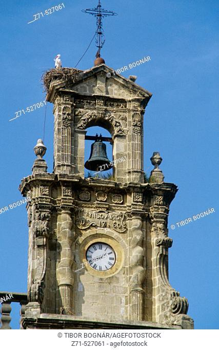 Church bell tower. Jerez de la Frontera. Andalucia. Spain