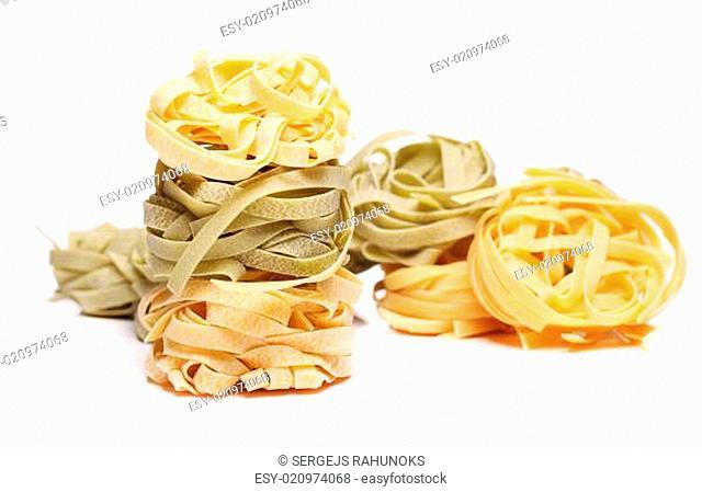 Fresh and tasty tagliatelli