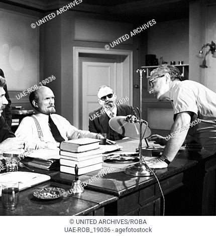 Bürgerkrieg in Russland, Fernsehserie, Deutschland 1967, Regie: Wolfgang Schleif, Szenenfoto mit Nikolaj Rytjkov (links)