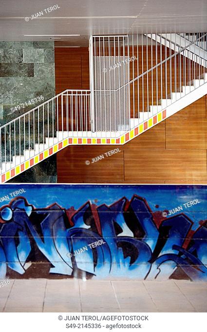Graffiti wall, Valencia, Spain