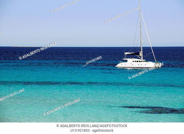Boat, Formentera, Balearic Islands, Spain