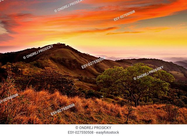 Foothills of Monteverde Cloud Forest Reserve, Costa Rica