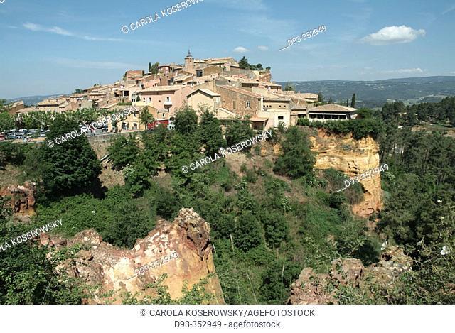 Roussillon. Luberon region. Provence. France