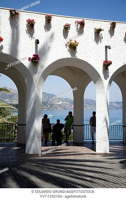 Balcony of Europe, Nerja, Andalucia, España