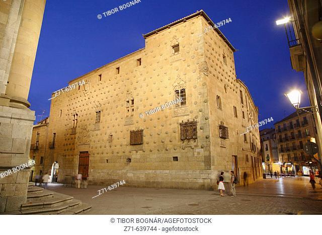 Spain, Castilla Leon, Salamanca, Casa de las Conchas
