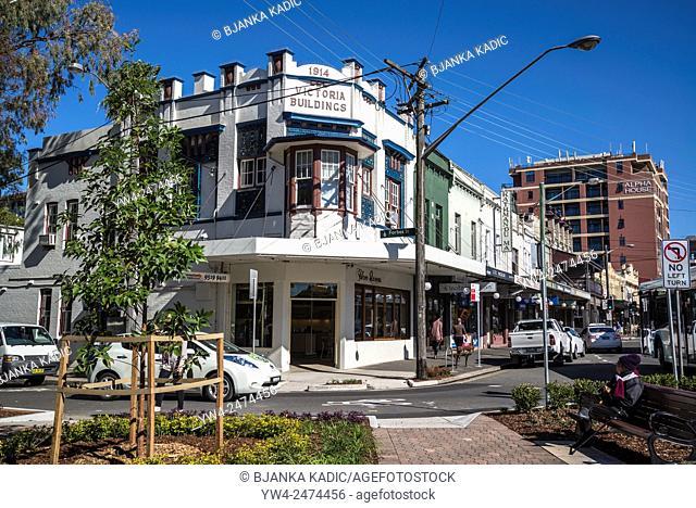 King Street, Victorian building, Newtown, Sydney, Australia