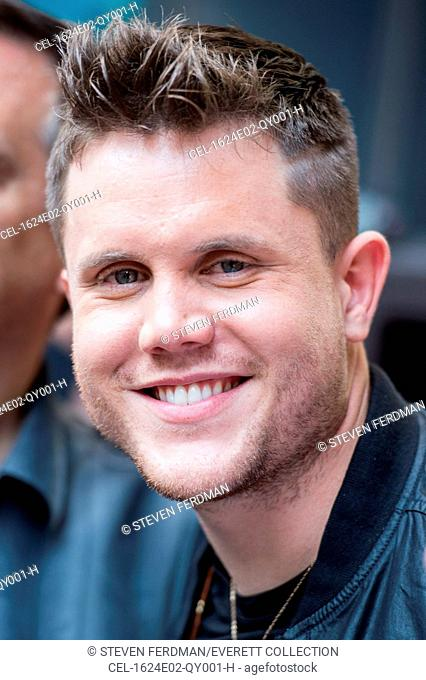 Trent Harmon on stage for Fox & Friends All American Summer Concert Series with Trent Harmon, Outside FOX Studios, New York, NY June 24, 2016