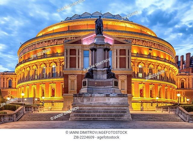 Royal Albert Hall,Kensington Gore,London,England