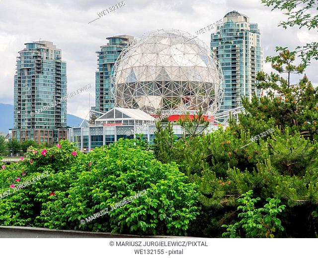 Science World at Telus World of Science, Vancouver is a science centre run by a not-for-profit organization in Vancouver, British Columbia, Canada