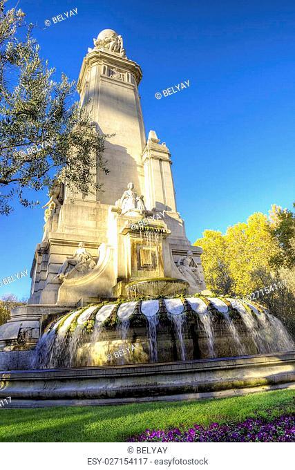 Madrid city - shots of Spain - Travel Europe - November