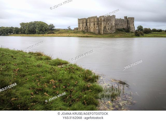 Carew Castle, Pembrokeshire, Wales, UK, Europe