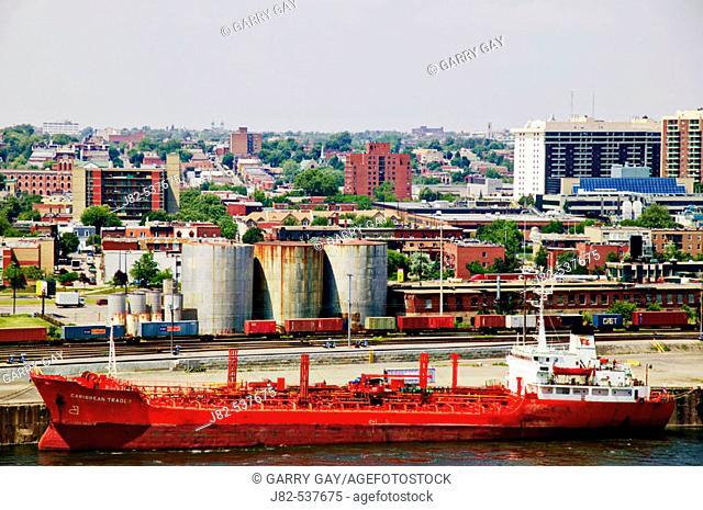 Oil tanker Montreal, Canada