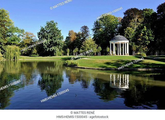 France, Bas Rhin, Strasbourg, Orangerie park