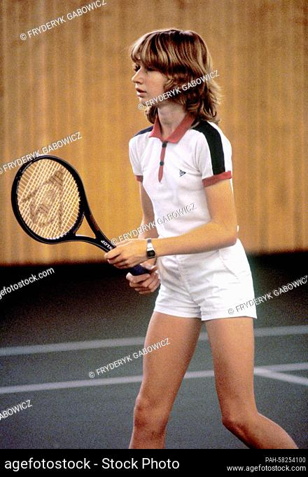 STEFFI GRAF 1982 Age 13 Photo Poster 8 x 12 in glossy Photolabor n3