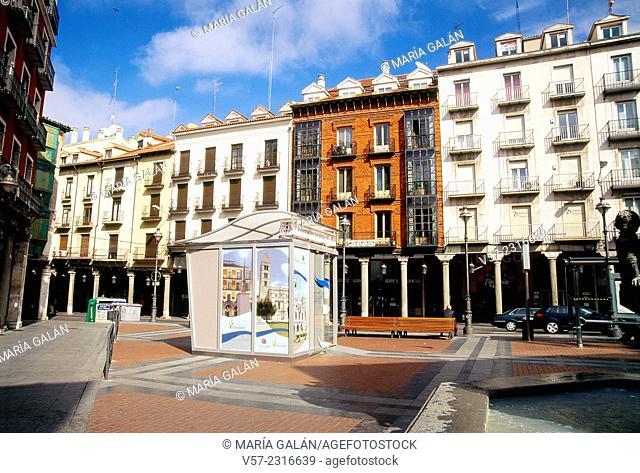 Fuente Dorada Square. Valladolid, Castilla Leon, Spain
