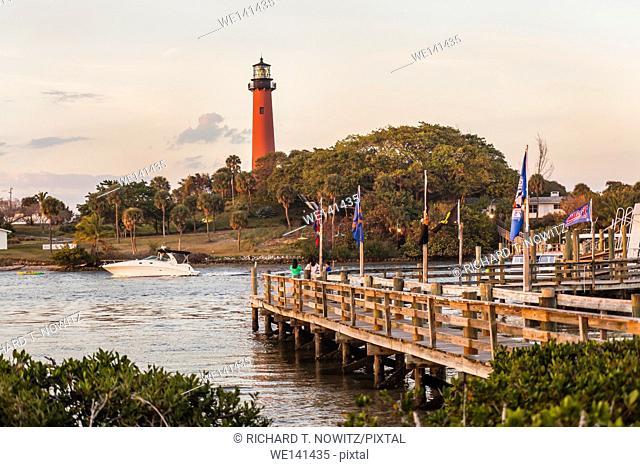 Jupiter Inlet Lighthouse, Jupiter, Florida