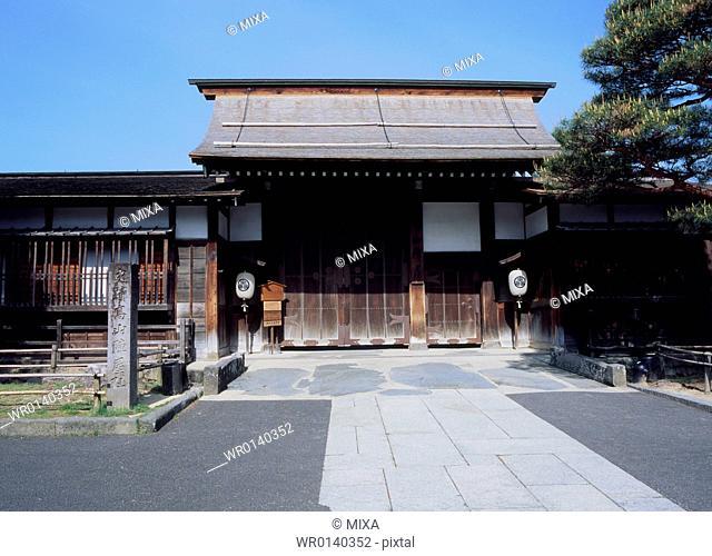 Takayama Jinya, Takayama, Gifu, Japan