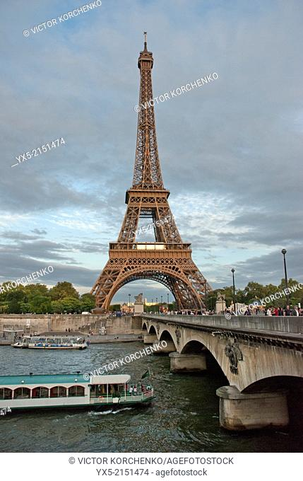 Eiffel Tower, Parice, France