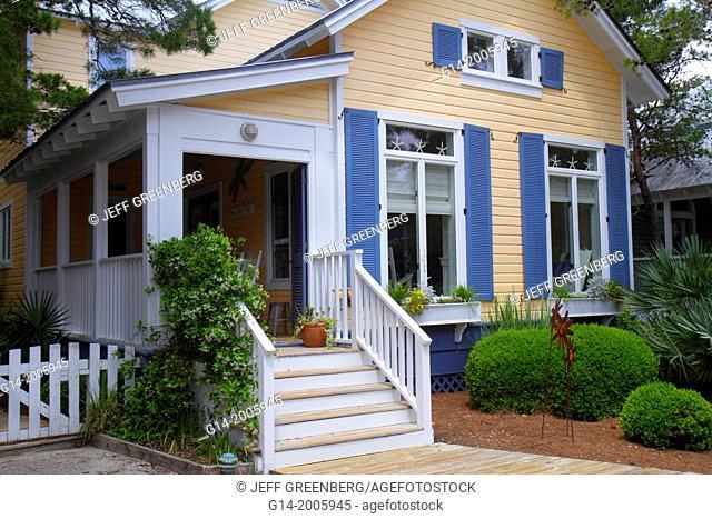 Florida, Seaside, master-planned community, New Urbanism, beach cottage, residence,