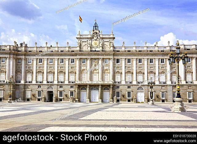 Stadtschloss - Madrid