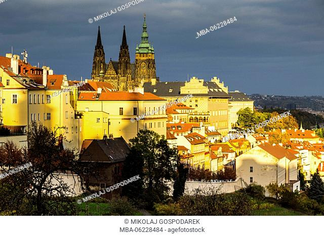 Europe, Czech Republic, Prague, View from Hradcany