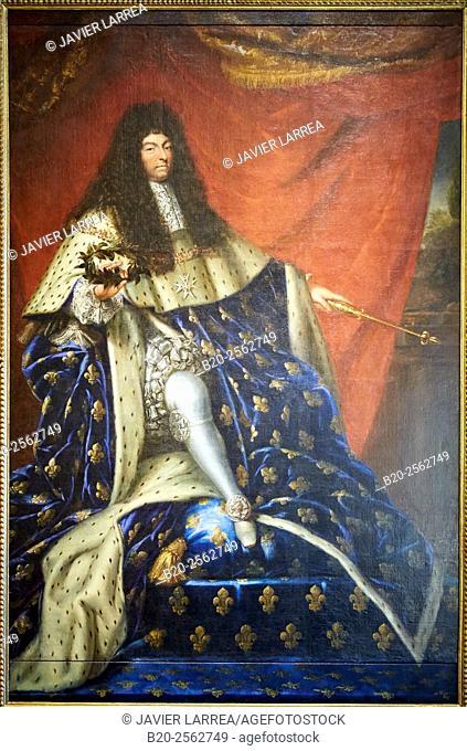 King Louis XIV of France, Henri Testlein, 1685, Deutsches Historisches Museum, Berlin, Germany