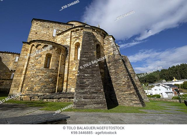Basílica de San Martiño de Mondoñedo, siglo X, Montoñedo, Lugo, Galicia, Spain
