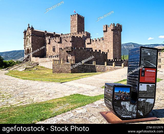 Castillo de Javier. Navarra. España