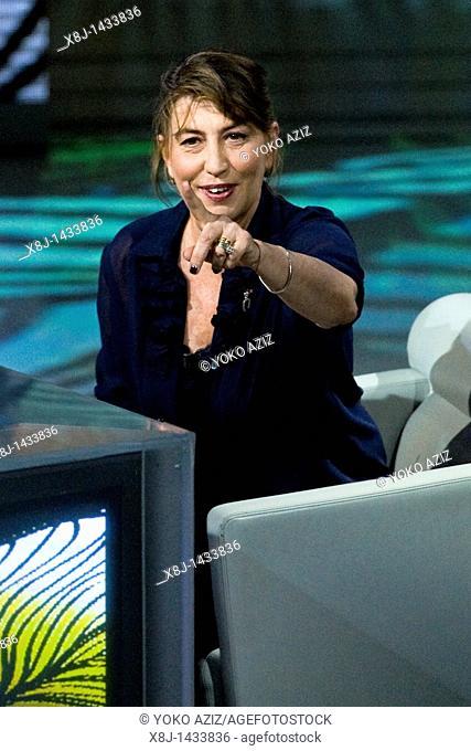 08 05 2011, Milan, 'Che tempo che fa' RAI 3 telecast  Serena Dandini