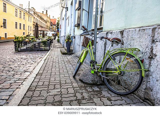 Old Street of Tallinn Estonia
