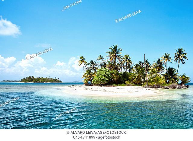 Lemon keys, San Blas Islands also called Kuna Yala Islands, Panama