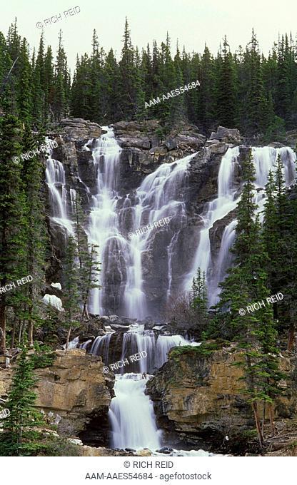 Stanley Falls, Jasper N.P., Alberta, Canada