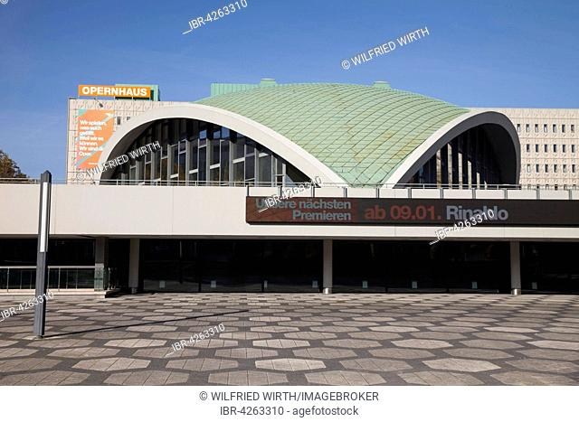 Opera house, theater, Dortmund, Ruhr district, North Rhine-Westphalia, Germany