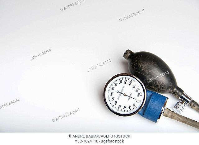 High Blood Pressure - Sphygmomanometer with blank space for advertising