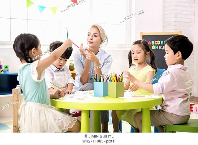 English.class at kindergarten