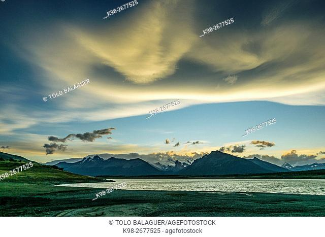 Lago Roca, El Calafate ,Parque Nacional Los Glaciares republica Argentina,Patagonia, cono sur, South America