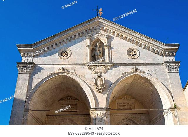 Sanctuary of Monte Sant'Angelo. Puglia. Italy
