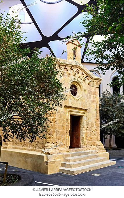 Chapel of Sant Pau, Cloister, The Seminari, Tarragona City, Catalonia, Spain, Europe