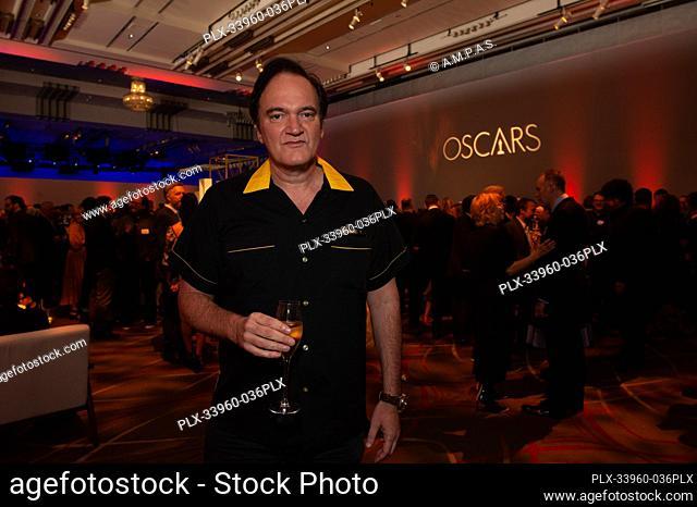 Oscar® nominee Quentin Tarantino at the Oscar Nominee Luncheon held at the Ray Dolby Ballroom, Monday, January 27, 2020. The 92nd Oscars will air on Sunday