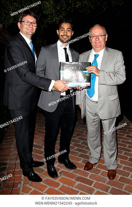 'The Hundred-Foot Journey' LA French Consulate Screening hosted by Destination Midi-Pyrenees Featuring: Axel CRUAU Consul general of France, Manish Dayal