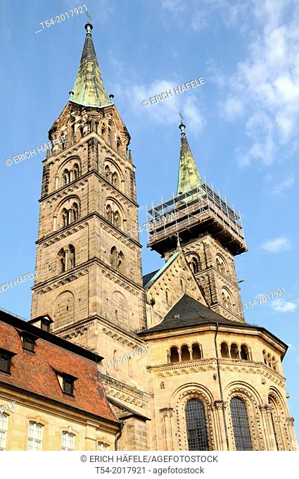 Bamberg Cathedral of St. Peter and St. George, Bamberg, Bavaria, Germany